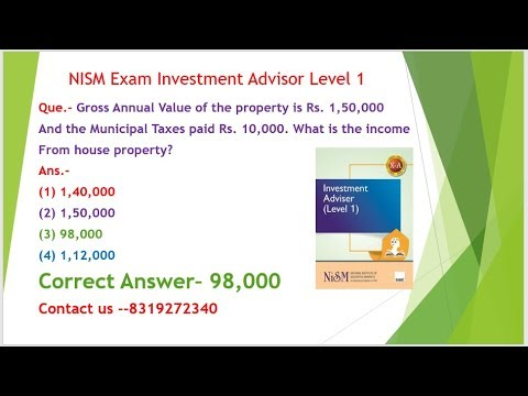 nism investment adviser level 1  Part 2