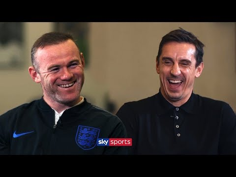 Who is the best England player Wayne Rooney ever played with? | Exclusive Interview