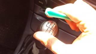 How to remove Renault Laguna megane scenic 2 gear knob Easy diy Tutorial megane laguna clio
