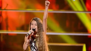 alexa sings girl on fire the voice kids australia 2014