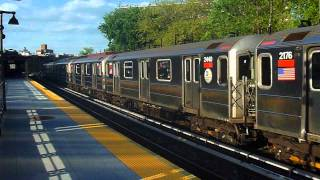 MTA Subways - 1984-86 Bombardier R-62A Subway Car #2436-2440/2176-2180