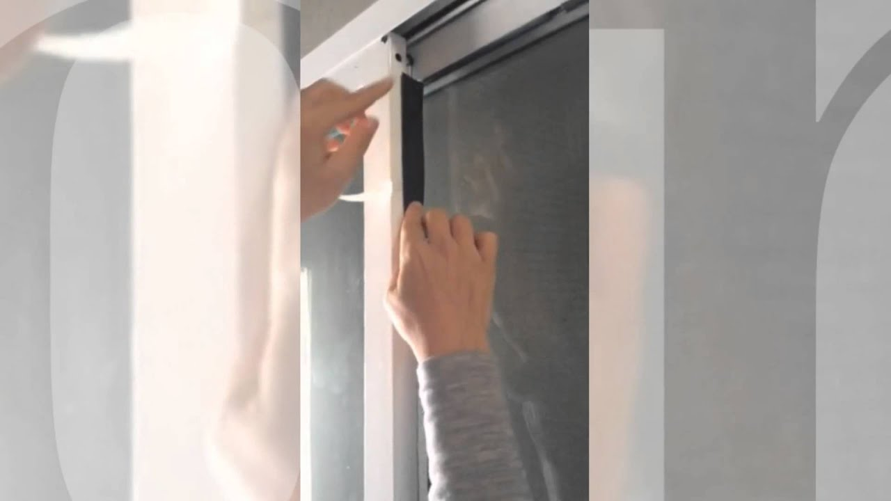 How to install weather seal on your sliding door  YouTube