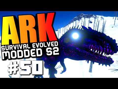 ARK Survival Evolved - GIGANOTOSAURUS WARDEN BOSS FIGHT, APEX CARNO FIGHT! Modded #50 (ARK Gameplay)