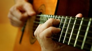 Vicente Gomez. Romance de Amor. on Classical guitar.