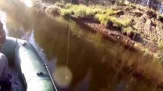 Рыбалка в Коми на р. Луза(Этот ролик обработан в Видеоредакторе YouTube (https://www.youtube.com/editor), 2015-10-15T03:02:48.000Z)