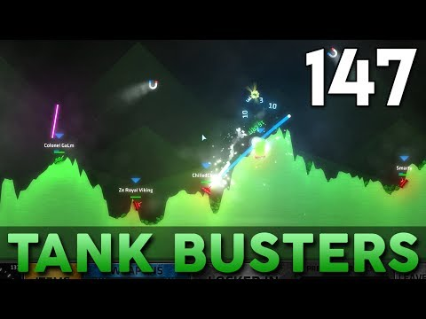 [147] Tank Busters (Let's Play ShellShock Live w/ GaLm and Friends)