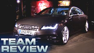 The Audi S7 Team Review Fifth Gear