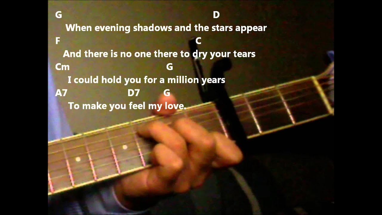 Make you feel my love adele version practice video with chords make you feel my love adele version practice video with chords and lyrics youtube hexwebz Image collections