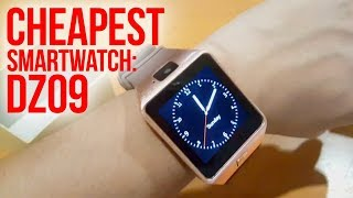 DZ09 Smartwatch (CHEAPEST SMARTWATCH!) Review in 2018 | Unbox Everything Philippines