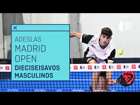 Resumen Dieciseisavos de Final Masculinos - Adeslas Madrid Open 2021 (Mañana) - World Padel Tour