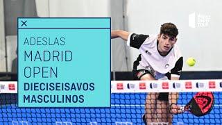 Resumen Dieciseisavos de Final Masculinos - Adeslas Madrid Open 2021 (Mañana) - World Padel Tour