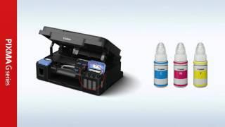 Canon Printer PIXMA G-Series : วีดีโอสาธิตการติดตั้ง