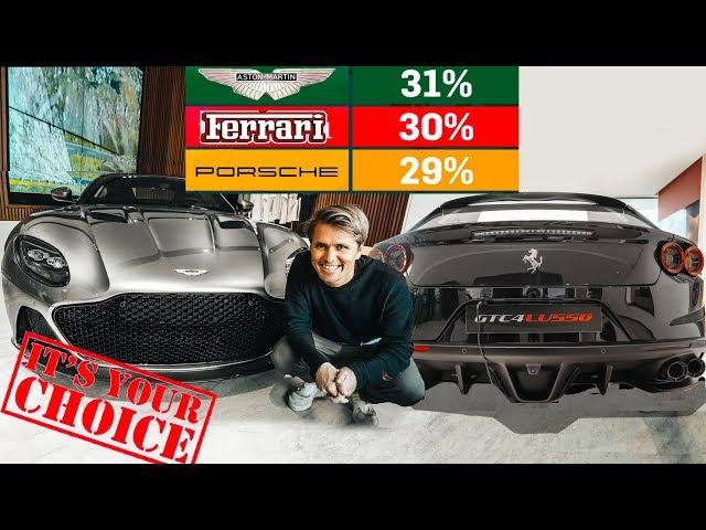 THE 300 000€ SUPERCAR POLL - YOU DECIDE MY NEXT CAR!!  | VLOG⁴ 14 (Part 2)