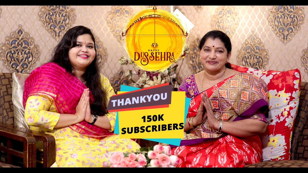 DUSSEHRA SUBHAKANKSHALU | CHIT CHAT WITH GAYATHRI REDDY|