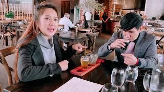 Thử vị 4 loại bia cùng Lý Hải Minh Hà