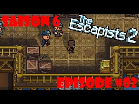 DEUX CLÉS ROUGES! - The Escapists 2 Ep. #02 (H.M.P Offshore)