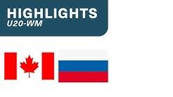 Kanada vs. Russland 4:3 - Highlights U20-WM | Final