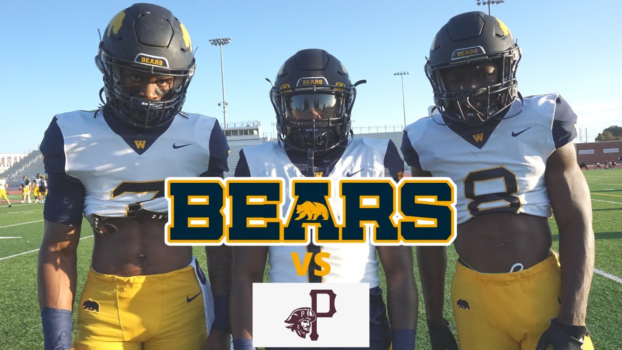 Warren High School Football vs Paramount High School football Highlights