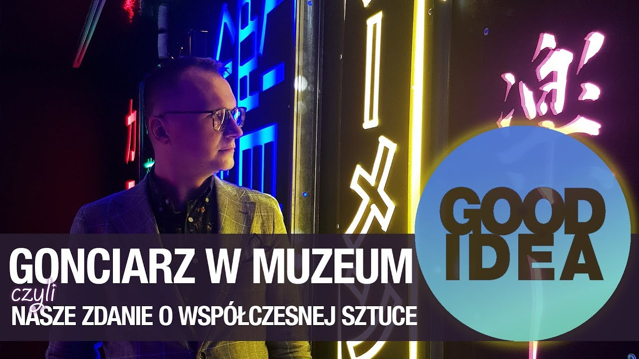 Czy sztuka współczesna jest zła? Wystawa Tokio 24 Krzysztofa Gonciarza | GOOD IDEA