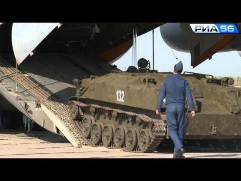 Оренбург. Учения военно-транспортной