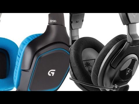 Logitech G430 vs  Turtle Beach PX24 comparison/review (PS4)