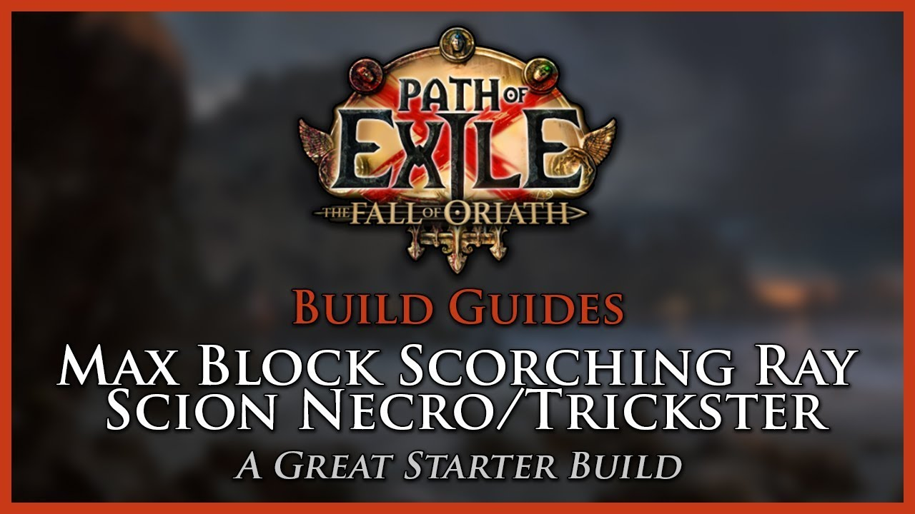 Path Of Exile   Starter Build Scorching Ray