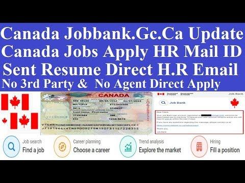Canada Job Bank Updates L Canada Jobs Bank Profile Deactivate L Canada Jobs Apply Direct HR Mail ID