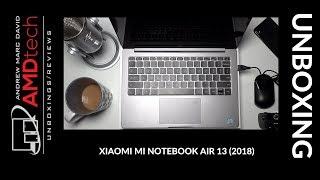 Xiaomi Mi Notebook Air 13 (2018) Unboxing:  Eighth Gen Quad-Core CPU & MX 150 GPU
