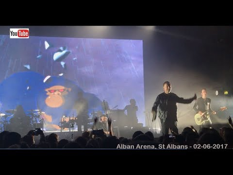 Thumbnail: Gorillaz live - Clint Eastwood (HD) The Alban Arena, St Albans - 02-06-2017