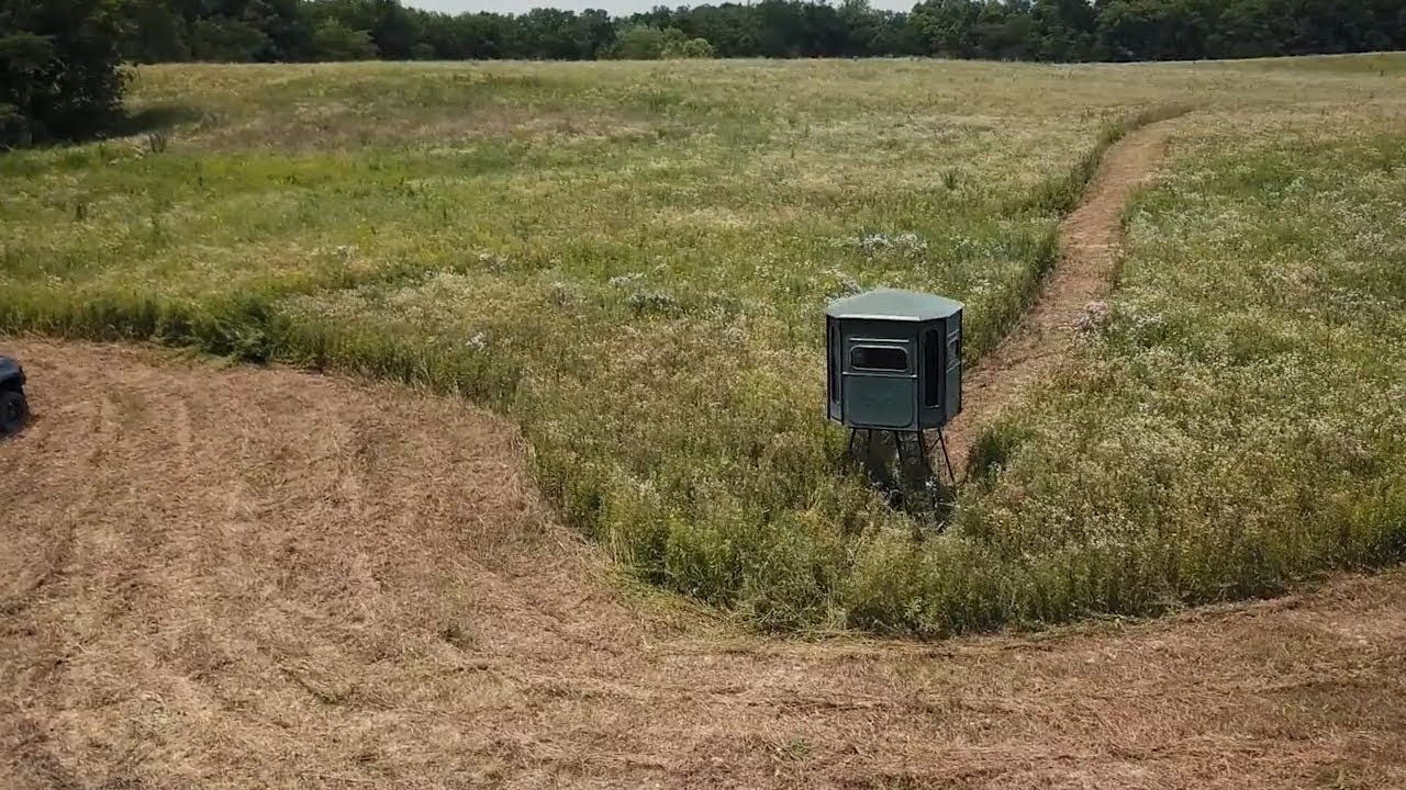 Redneck Hunting Blinds - The Management Advantage - YouTube
