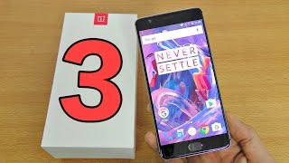 OnePlus 3 - Unboxing, Setup & First Look! (4K)
