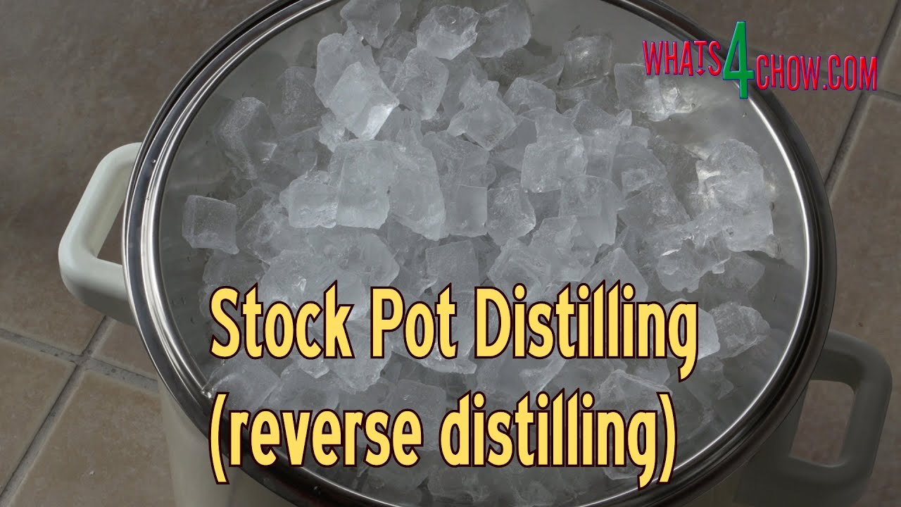 How to Make a Reverse Pot Still - Quick & Easy Reverse ...