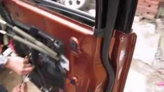 INFINIT ремонт моторчика замку