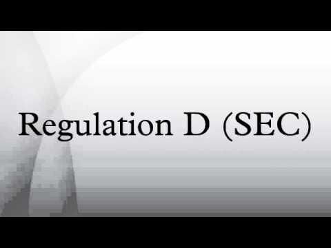 Regulation D (SEC)