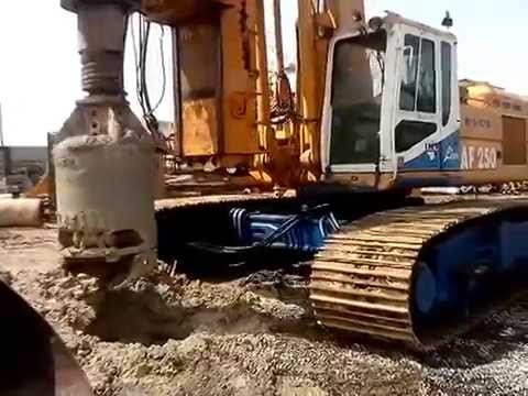 IMT AF250 Drill Rig in Action