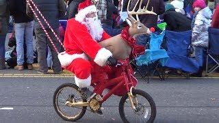 Santa Claus giving gifts