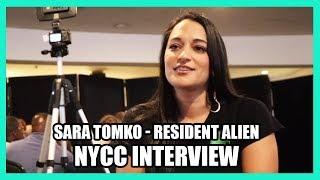 Sara Tomko - RESIDENT ALIEN New York Comic Con Interview - NYCC 2019