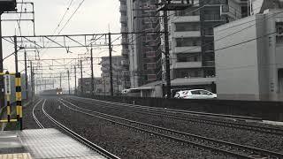 【霧の中の485系 華!】485系 華 快速お座敷青梅奥多摩号送り込み 新座駅通過