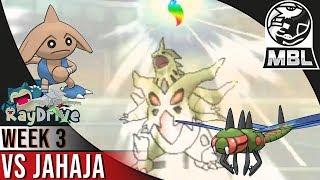 BIG BOY PLAYS! - Team RayDrive VS Team JaHaJa | MBL S3 W3 | Pokemon USUM Multi Battle League!