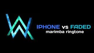 Iphone vs faded remix | marimba ringtone part - 2 parmar music's
