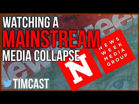 Watching a Mainstream Media Collapse
