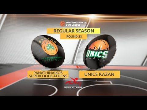 Highlights: Panathinaikos Superfoods Athens-Unics Kazan