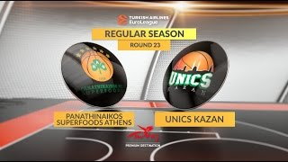 Highlights: Panathinaikos Superfoods Athens-Unics Kazan
