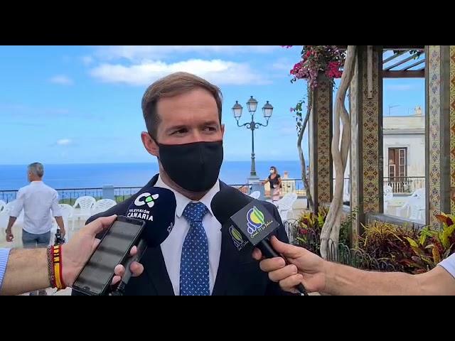 Declaraciones del Presidente del Cabildo de La Palma sobre el día de San Miguel, Patrón de la Isla.