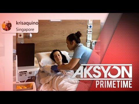 Kris Aquino, naka-confine na sa ospital sa Singapore