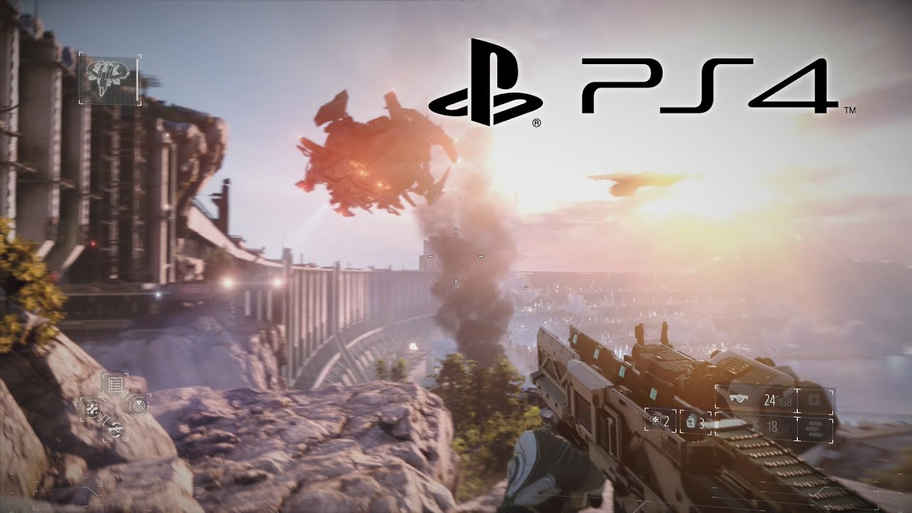 PlayStation 4 (PS4) Gameplay & Graphics! (HD 1080p) - YouTube