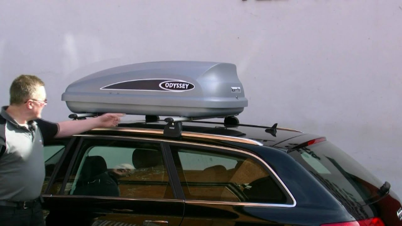 Thule Karrite Roof Box Comparison Youtube