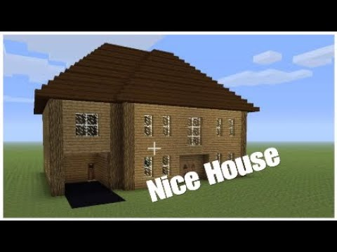 How to make a nice and easy house in minecraft