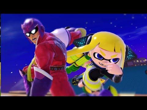 Super Smash Bros. Ultimate: Offline: Carls493 (Inkling) Vs. Astro (Captain Falcon) thumbnail