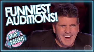 Download FUNNIEST AUDITIONS EVER ON GOT TALENT Mp3 and Videos